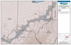 Map Of Ohio And Pennsylvania by The Bluegrass Pipeline Kentucky Waterways Alliance