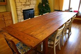 Farmhouse Dining Room Tables Dining Room Table Plans Provisionsdining Com