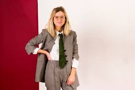 i tried dressing like diane keaton man repeller