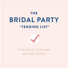 wedding wishes list best 25 bridesmaid checklist ideas on wedding