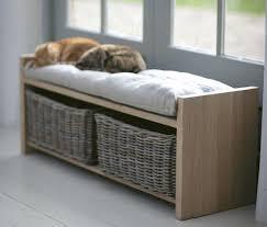 Bedroom Storage Bench Brilliant Hall Bench Seat With Storage Best 25 Hallway In Benches