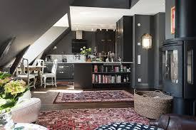 Swedish Style Rugs Swedish Loft Kitchen Atticmag