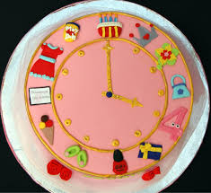 birthday clock for a 4 year old maria u0027s dream cakes