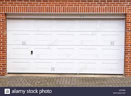 Large Garage by A Large Garage Door In A Home Stock Photo Royalty Free Image