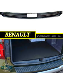 renault fluence trunk protective pad for renault duster 2015 2017 on the rear trunk door