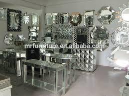 pebble design creative and unique all glass mirror wall mirror for