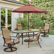 Outdoor Patio Dining Sets With Umbrella Outdoor Dining Sets U0026 Bistro Sets Watson U0027s