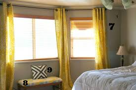 Target Bedroom Curtains | decorating bedroom after numbers 2 stunning yellow curtains target