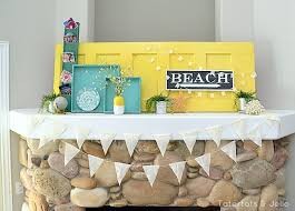 Diy Summer Decorations For Home 99 Best Decorate Your Mantel Images On Pinterest Mantle