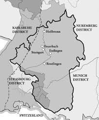 Stuttgart Germany Map by Stuttgart District Religious Studies Center
