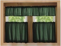 Kitchen Curtains Walmart by Target Kitchen Curtains Valances Dark Green Valance Kitchen