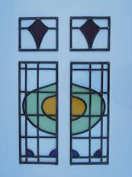 Stained Glass Door Panels by Repairs Larkin Glass Art
