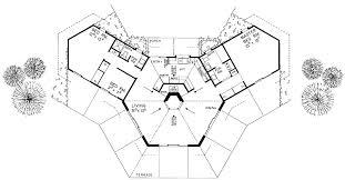 different floor plans terrific hexagon house floor plans images ideas house design