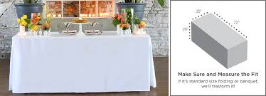 fitted table covers 6 foot