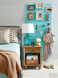 creative nightstand storage ideas bedroom storage bag