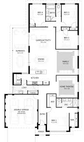 apartments 4 bedroom home plans bedroom apartment house plans