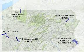 Ohio Rivers Map by 2015 River Of The Year Nominees U2013 Pennsylvania River Of The Year