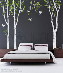 tree wall sticker wall decals tree decal new forest trees