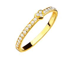 pierscionki apart złoty pierścionek wzór p 837 01 apart złoto