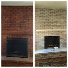 lovely whitewash fireplace suzannawinter com