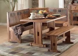 dining room table and bench corner kitchen table with storage bench u2014 the clayton design