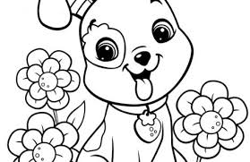 dog coloring pages girls colorings