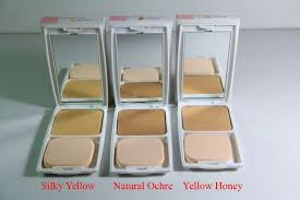 Bedak Pixy pixy uv whitening twc cake refill yellow honey best