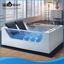 Small Bathtub Size Proway Manufacture Hottub Spa Bubble Jet System Air Massage Jet