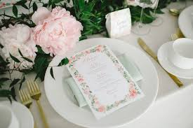 wedding table setting ideas by bride u0026 blossom nyc u0027s only