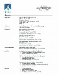 resume template example blank cv ireland 51 templates pertaining