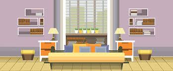 Home Interior Vector by Luxury Bedroom Clip Art Vector Images U0026 Illustrations Istock