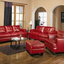 Best Red Leather Couches Ideas On Pinterest Red Leather - Red leather living room set