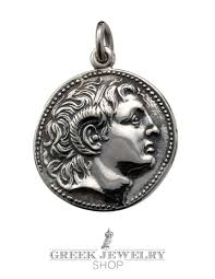 silver coin pendant necklace images Greek silver pendants ancient coins symbols jewelry greek jpg