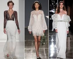 wedding dress trend 2018 wedding dress trends 2018 bridal fashion week instyle