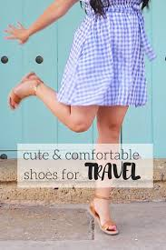 Comfortable Travel Shoes Comfortable And Cute Shoes For Travel