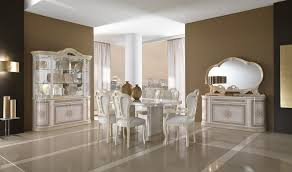 classic italian dining table mcs pamela walnut