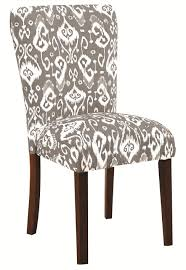 Patterned Dining Chairs Grey Fabric Dining Chair A Sofa Furniture Outlet Los