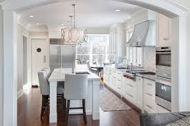 drum pendant lighting kitchen transitional with 42 refrigerator