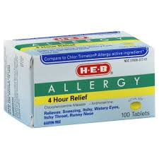 h u2011e u2011b allergy tablets u2011 shop allergy medicine and antihistamine at heb