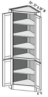Corner Top Kitchen Cabinet by Best 25 Corner Pantry Ideas On Pinterest Pantry Master Closet
