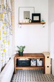 Bathroom Bench With Storage Interdesign Classico Wallmount Magazine And Tissue Holder Chrome