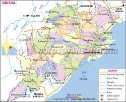 power and light district map odisha map
