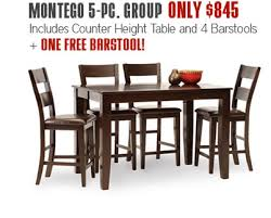 montego counter height table index of images content fr j414 db