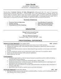 resume templates sles customer service sales resume skywaitress co