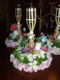 luau table centerpieces pin by bernice velez martinez on prin cess party creations