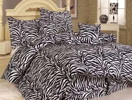 Zebra Bed Set Zebra Print Decor Ideas In 16 Photos Zebra Print Bedroom