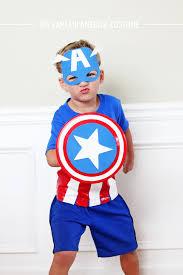 Captain America Halloween Costume Kids Diy Captain America Costume Pb Kids Honor Design