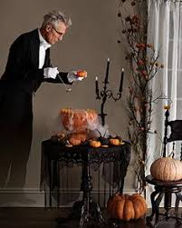 details about miniature spooky halloween punch bowl set