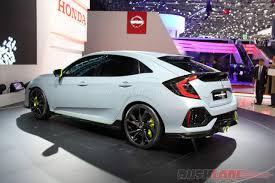 custom honda hatchback 2017 honda civic hatchback concept 2016 geneva motor show live