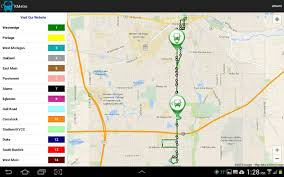 Kalamazoo Michigan Map by Kalamazoo Metro Transit Android Apps On Google Play